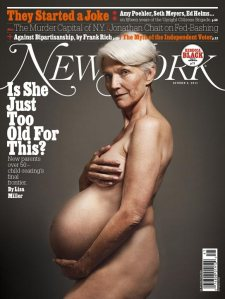 old pregnant lady